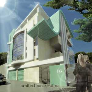 architectural project Bucharest Romania