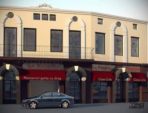 restaurant fastfood modernizare amenajare